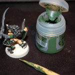 Tutoriel Conversion Contrepercage Bras 5 Base green stuff
