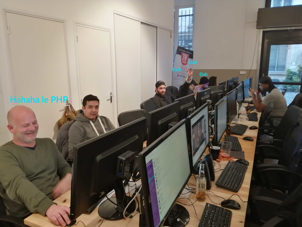 3WAcademy Paris - Battle dev